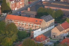 luchtbeeld lagere school